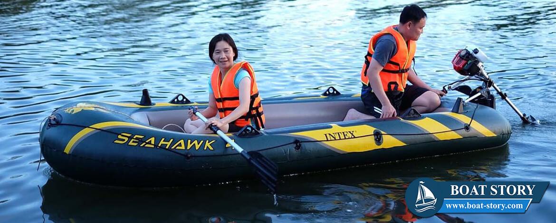 เรือยาง INTEX Seahawk 02