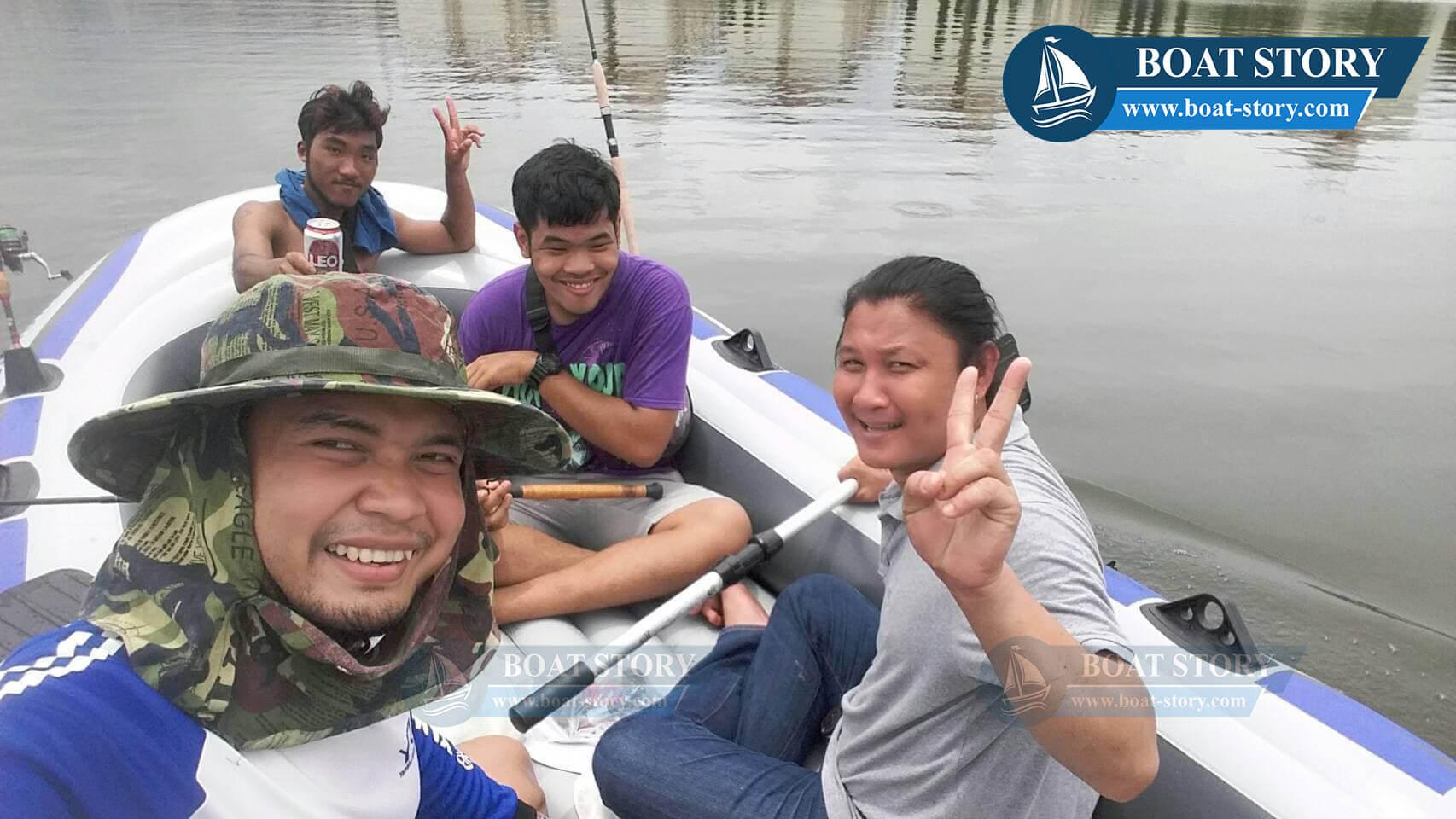 รีวิวเรือยาง Intex Excursion 5