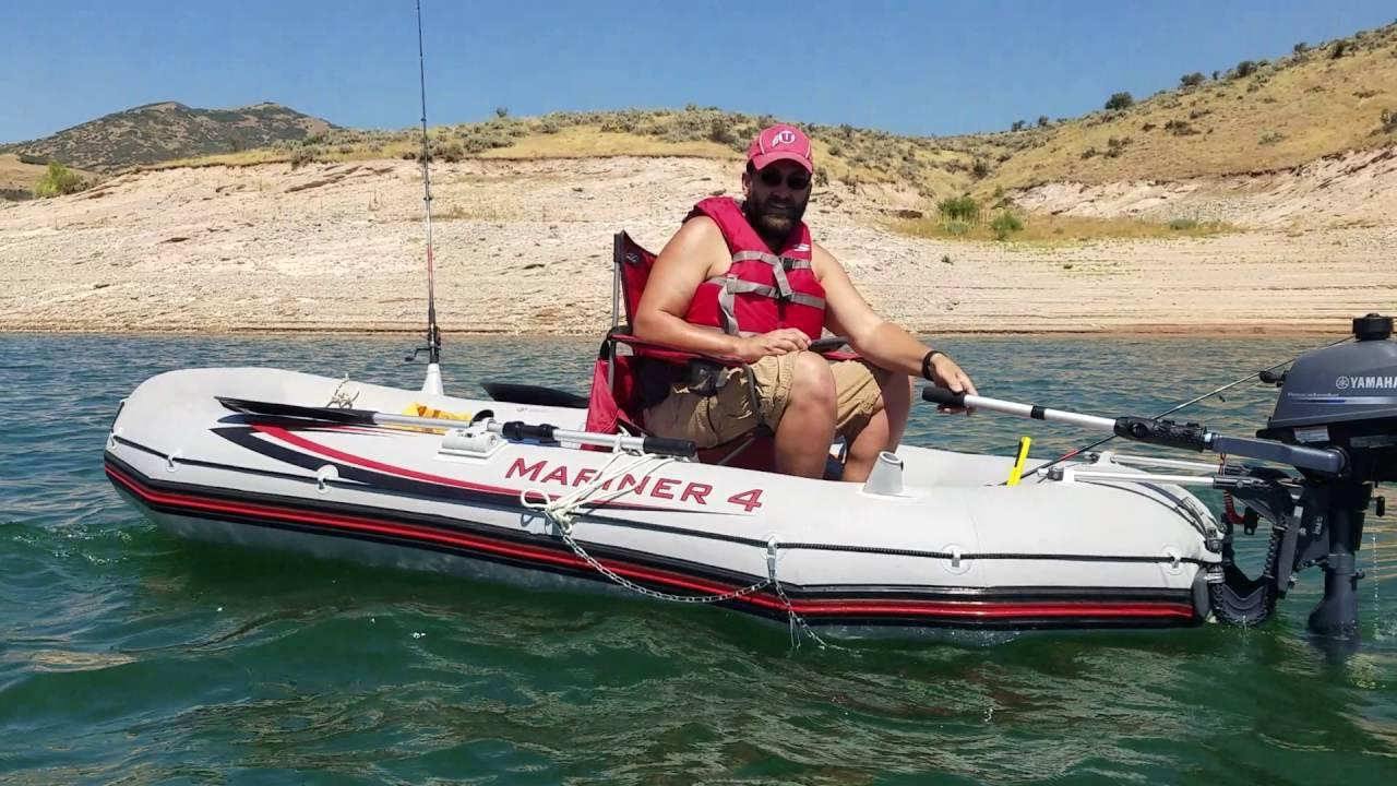 เรือยางท้องอ่อนสำหรับ ตกปลา